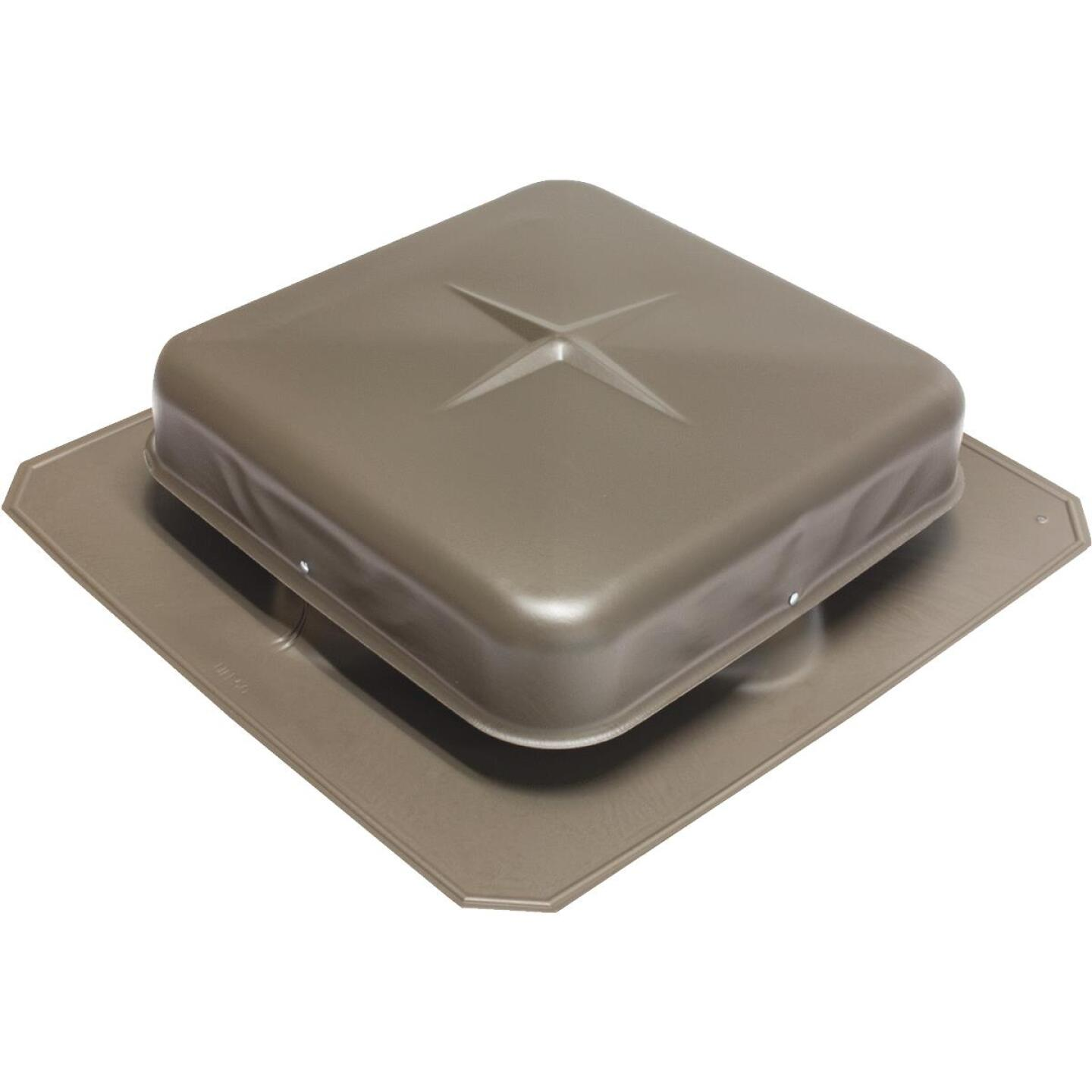 Air Vent Airhawk 50 In. Weatherwood Square Roof Vent Image 1