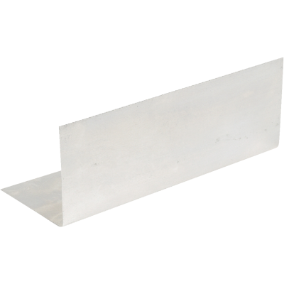 Amerimax 2.5 In. x 7 In. Mill Aluminum Pre-Bent Step Flashing