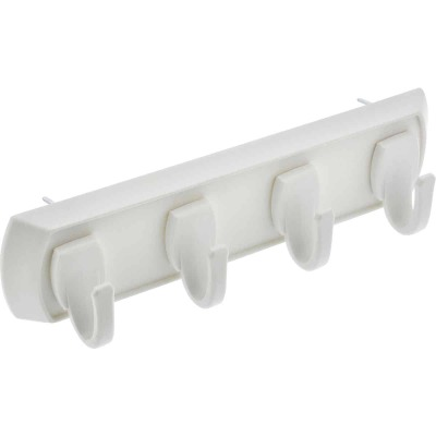 Hillman High and Mighty 5 Lb. Capacity White Key Rail