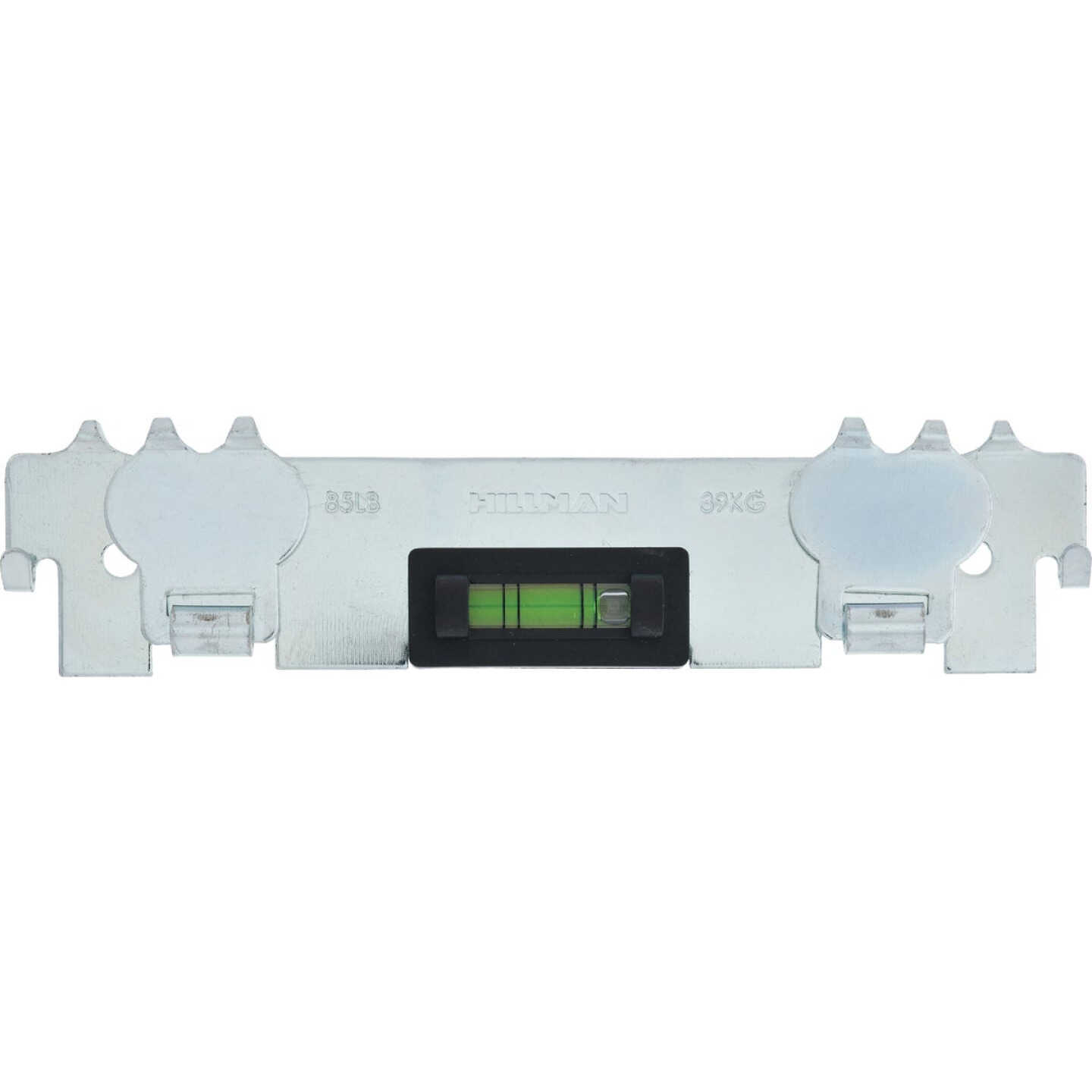 Hillman High and Mighty 85 Lb. Capacity Metal Picture Hanger with Level  Image 2