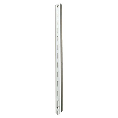 Knape & Vogt 80 Series 48 In. Anachrome Steel Adjustable Shelf Standard