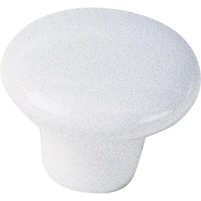 Laurey White 1-1/4 In. Cabinet Knob