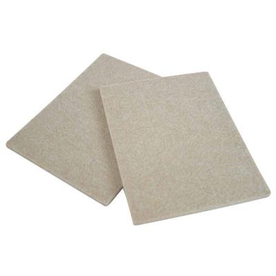 Magic Sliders 6 In. x 4-1/2 In. Oatmeal Felt Sheet,(2-Pack)