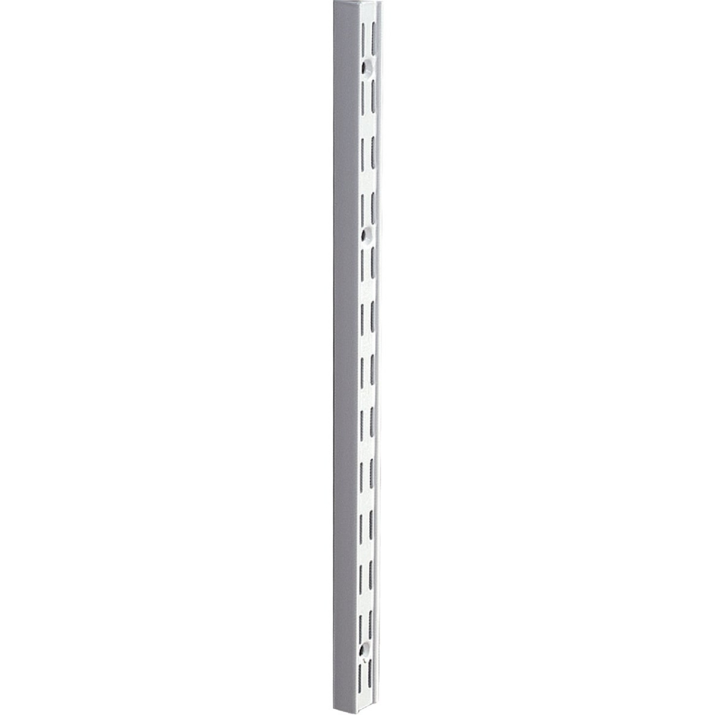 Knape & Vogt 82 Series 16-1/2 In. Titanium Steel Heavy-Duty Double-Slot Shelf Standard Image 1