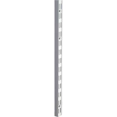 Knape & Vogt 82 Series 39 In. Titanium Steel Heavy-Duty Double-Slot Shelf Standard