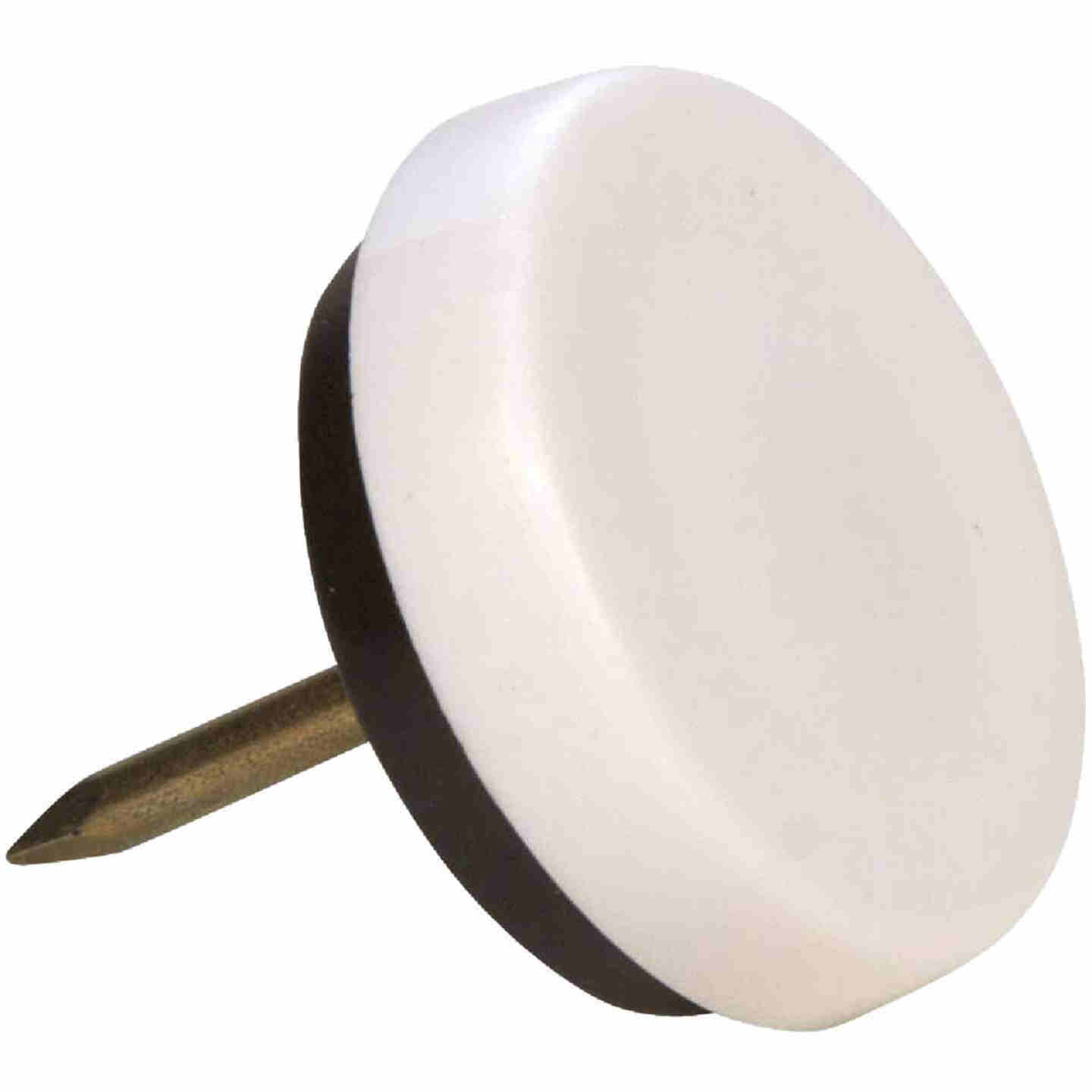Magic Sliders 1-1/8 In. Round Nail on Furniture Glide,(4-Pack) Image 1
