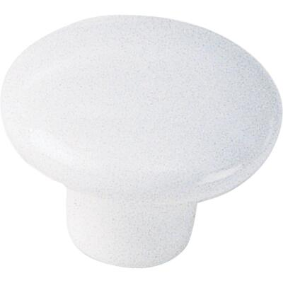 Laurey White 1-1/2 In. Cabinet Knob