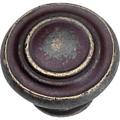 Laurey Windsor Weathered Antique Bronze 1-3/8 In. Cabinet Knob