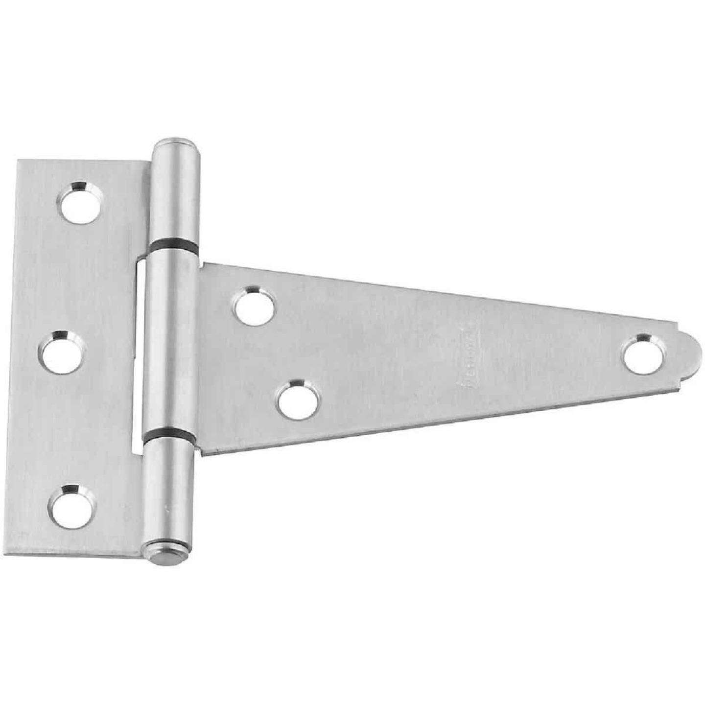 National 4 In. Stainless Steel Extra Heavy Tee Hinge Image 1