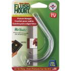 The Monkey Hook Flush Mount Picture Hanger, (4-Pack) Image 2