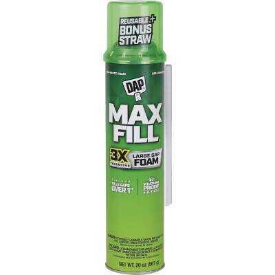 DAP Max Fill 20 Oz. Triple Expanding Foam Sealant