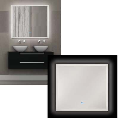 Renin Landscape 32 In. W. x 36 In. H. Polished Edge Backlit Wall Mirror