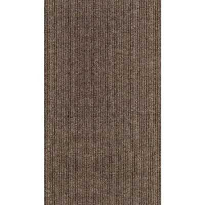 Multy Home Concord 26 In. x 50 Ft. Tan Carpet Runner, Indoor/Outdoor