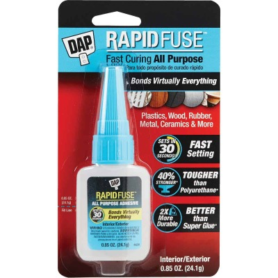 DAP RapidFuse 0.85 Oz. Clear Multi-Purpose Adhesive