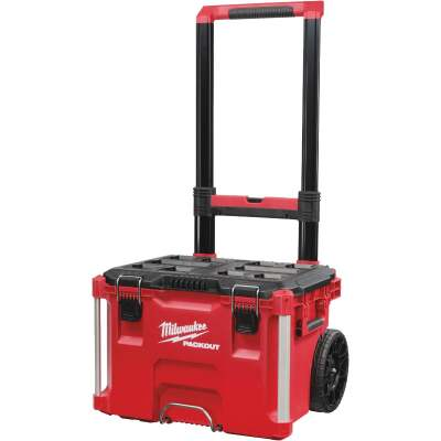 Milwaukee PACKOUT 22 In. Rolling Toolbox, 250 Lb. Capacity