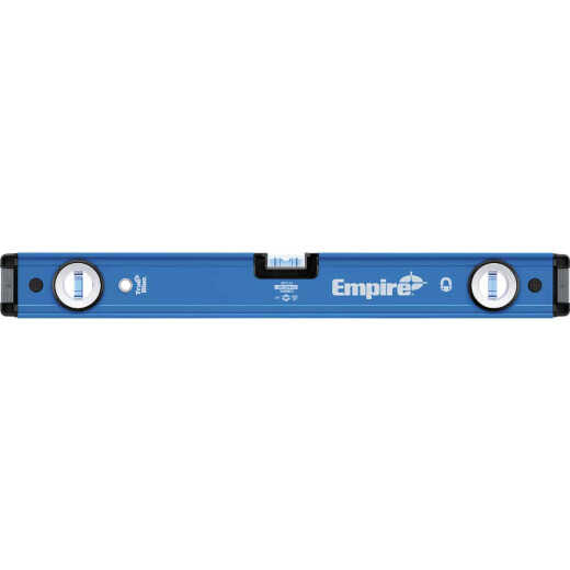 Empire True Blue 24 In. Aluminum Magnetic Professional Box Level