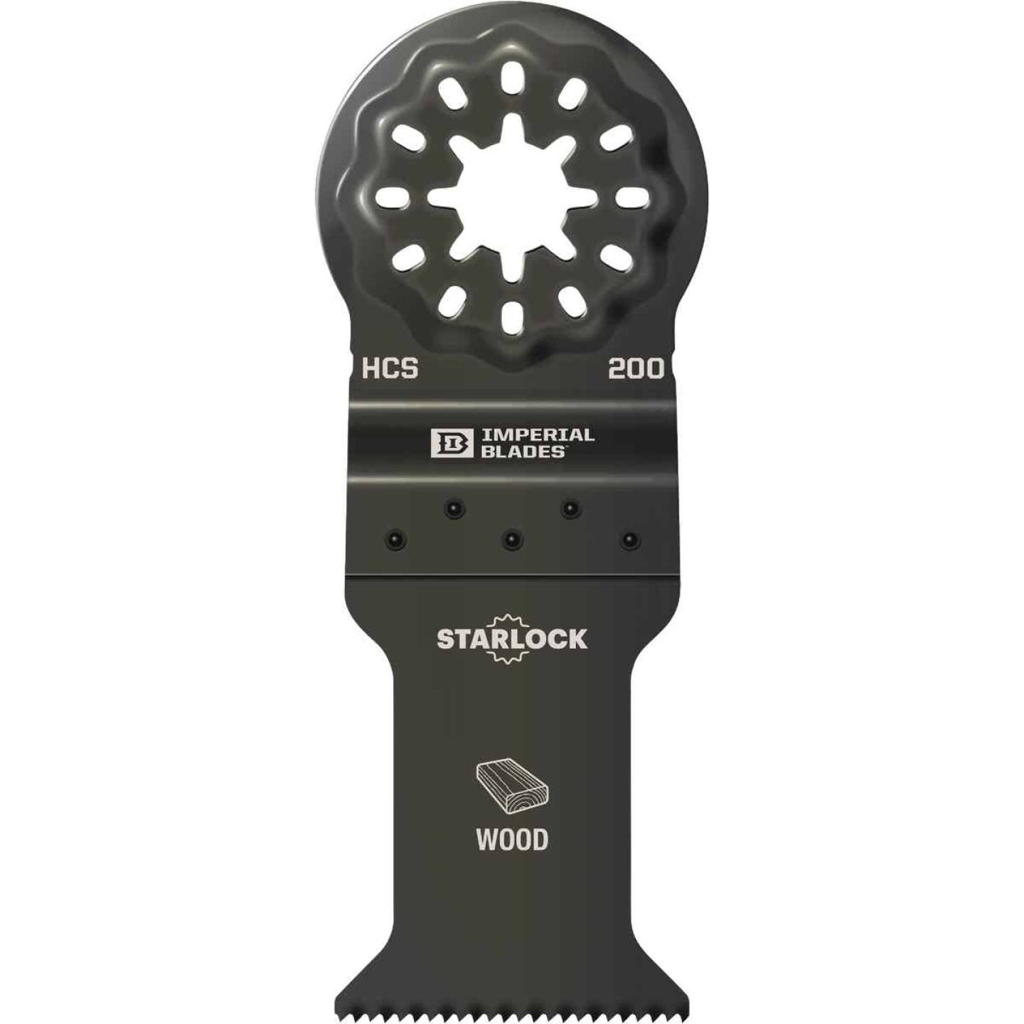 Imperial Blades Starlock 1-3/8 In. 18 TPI Fast Wood Oscillating Blade Image 1