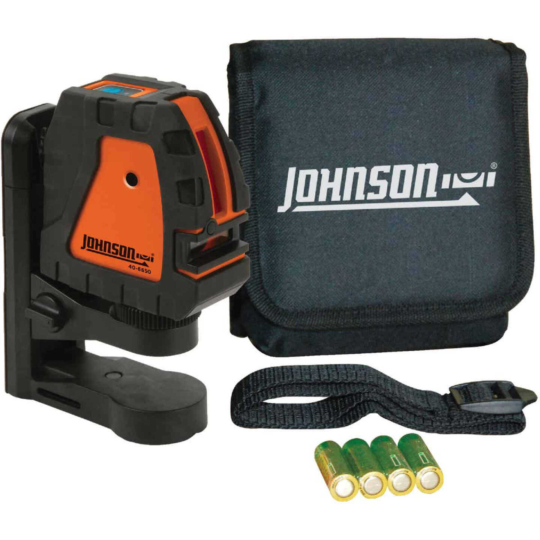 Johnson Level 150 Ft. Self-Leveling Cross-Line Laser Image 1