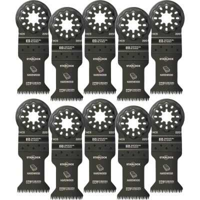 Imperial Blades Starlock 1-3/8 In. 14 TPI Precision Wood Oscillating Blade (10-Pack)