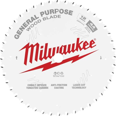 Milwaukee 12 In. 44-Tooth General Purpose Wood Circular Saw Blade