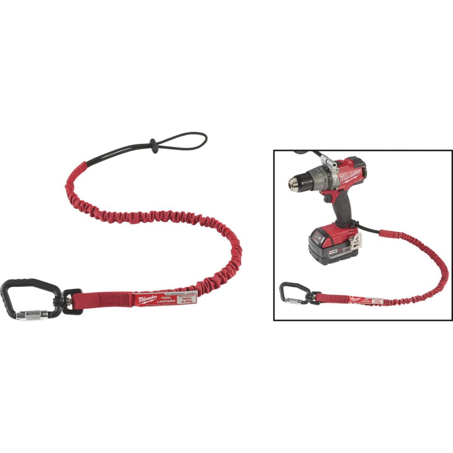 Milwaukee 10 Lb. Locking Tool Lanyard Image 1