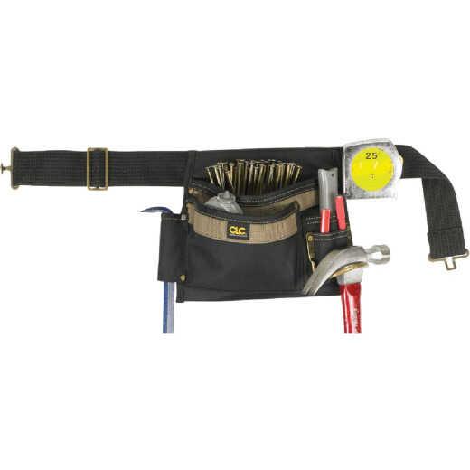 CLC 5-Pocket Polyester & Ballistic Nylon Single Side Carpenter Apron