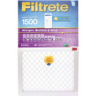 3M Filtrete 20 In. x 25 In. x 1 In. 1500 MPR Allergen, Bacteria & Virus Smart Furnace Filter Image 1