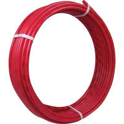 SharkBite 1/2 In. x 100 Ft. Red PEX Pipe Type B Coil