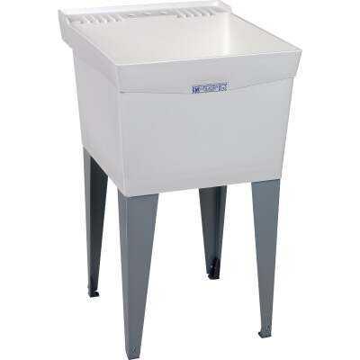 Mustee Utlitub 18 Gallon 20 In. W x 24 In. L Thermoplastic Laundry Tub