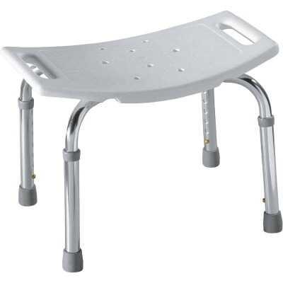 Moen Home Care 300 Lb. Capacity Glacier Shower & Tub Seat