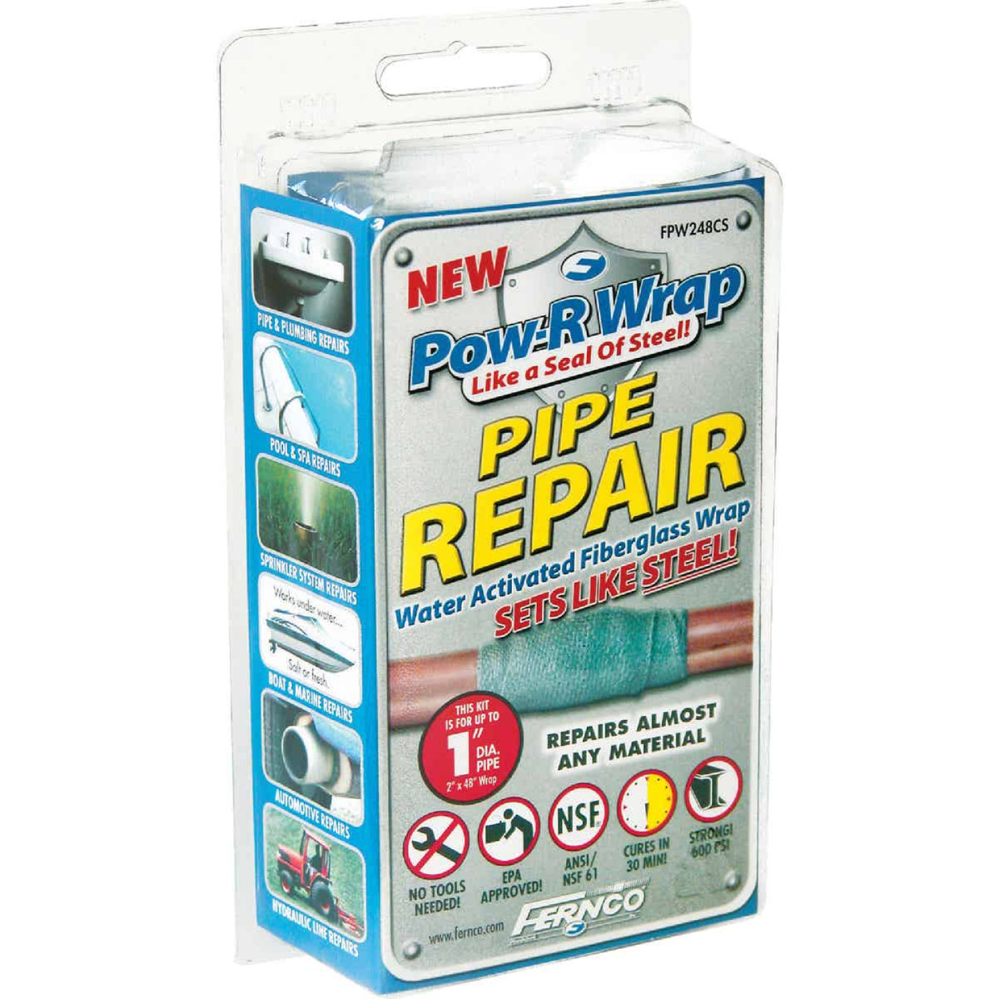 Fernco Pow-R Wrap 2 In. X 48 In. Pipe Repair Wrap Image 1