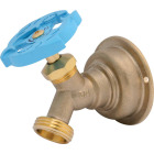Sharkbite 3/4 In. SB x 3/4 In. MHT Multi Turn Brass No Kink 45 Degree Hose Bibb Image 1