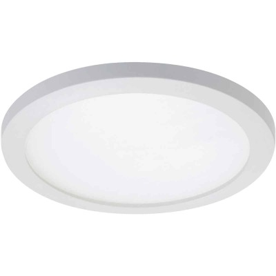 Halo 4 In. Round Retrofit IC/Non-IC Rated White LED Flush Mount LED Recessed Light Kit