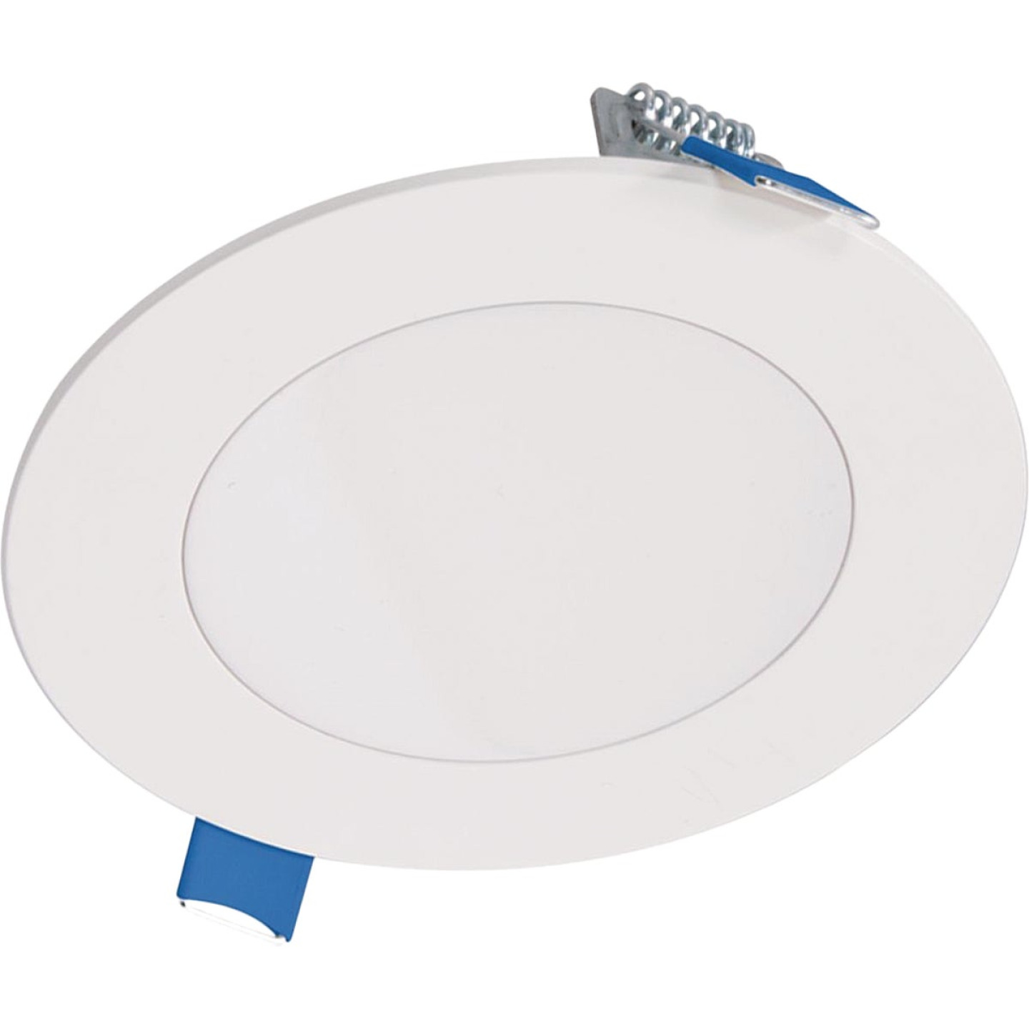 Liteline Trenz ThinLED 4 In. New Construction/Remodel IC Rated White 680 Lm. 4000K Recessed Light Kit Image 1