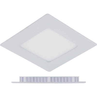 Liteline Trenz ThinLED 4 In. New Construction/Remodel IC Rated White 550 Lm. 3000K Square Recessed Light Kit
