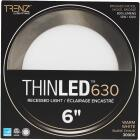 Liteline Trenz ThinLED 6 In. New Construction/Remodel IC Rated White 800 Lm. 3000K Recessed Light Kit Image 2