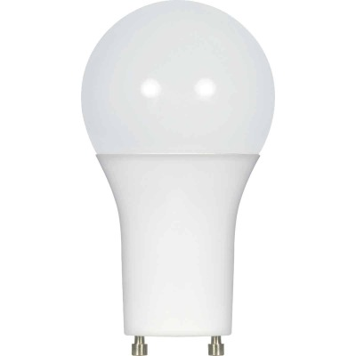 Satco 75W Equivalent Warm White A19 GU24 LED Light Bulb