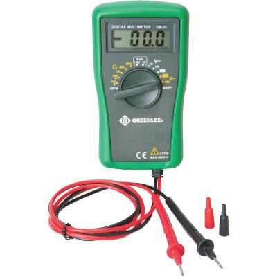 Greenlee 6-Function Manual Ranging Digital Multimeter