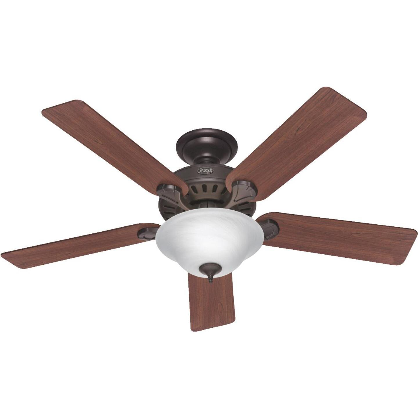 Hunter Pro's Best 5-Minute 52 In. New Bronze Ceiling Fan with Light Kit Image 1