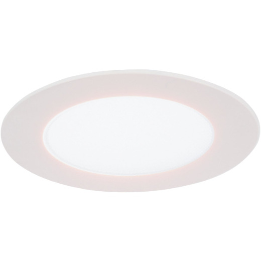 Halo 4 In. Retrofit Selectable Color Temperature Ultra Thin LED Recessed Light Kit, 750 Lm.
