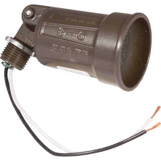 Bell 150W PAR38 Bronze Single Bulb Weatherproof Outdoor Lampholder, Carded
