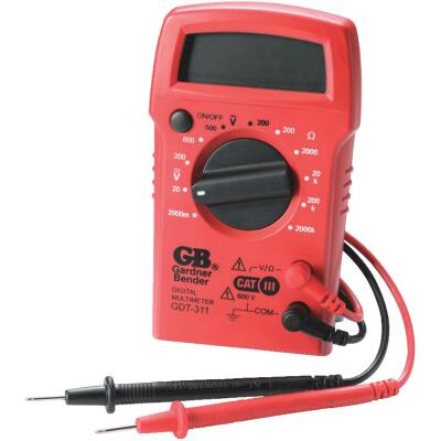 Gardner Bender 3-Function Digital Multi-Tester