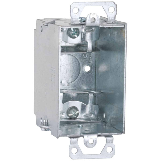 Raco 1-Gang Steel Welded Armored Cable Wall Box