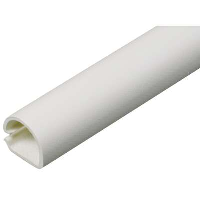 Wiremold CordMate 1/2 In. x 5 Ft. White Channel