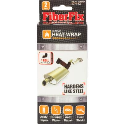 FiberFix 2 In. x 70 In. Heat Wrap Repair Tape, Sienna Brown