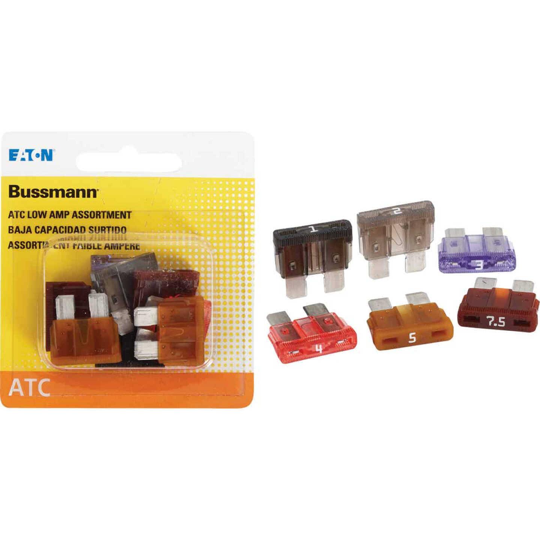 Bussmann ATC Low Amp Fuse Assortment (8-Piece) Image 1