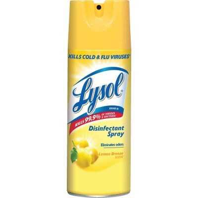 Lysol 12.5 Oz. Lemon Breeze Disinfectant Spray
