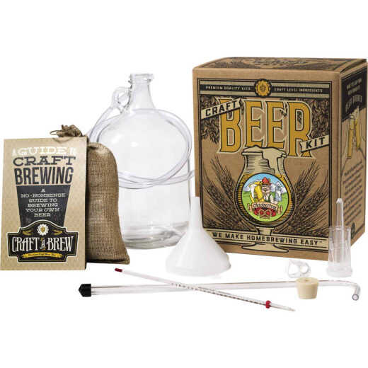 Craft A Brew Oktoberfest Ale Beer Brewing Kit (11-Piece)