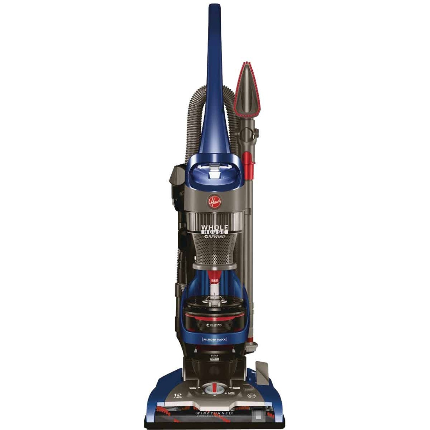 Hoover WindTunnel 2 Whole House Bagless Rewind Upright Vacuum Cleaner Image 1