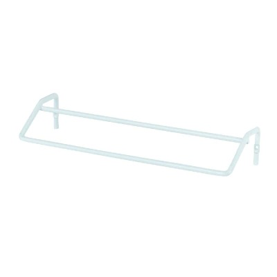 Grayline 10 In. Double White Vinyl Towel Bar